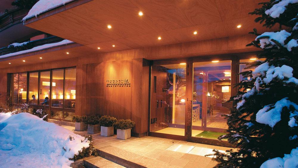 Modernes design zeitlose tradition bewahren und die for Design hotel skifahren