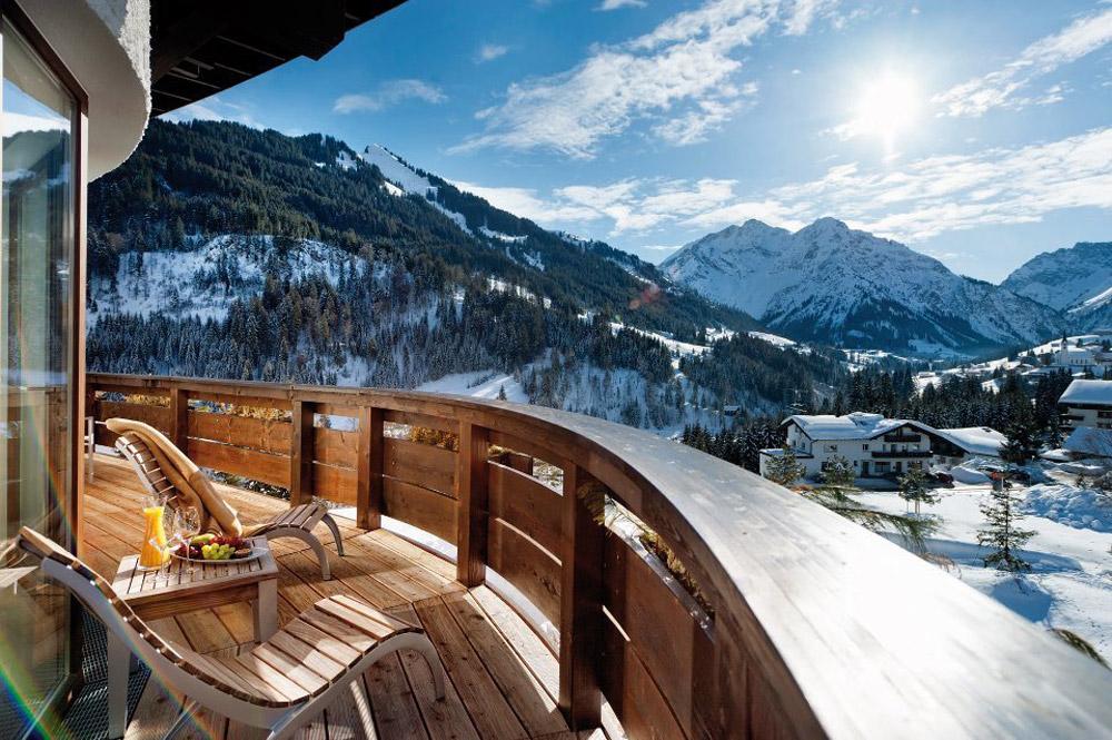 Sterne Hotel In Den Bergen Mit Pool In Deutschland