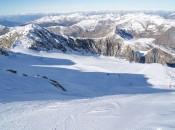 Bestens präparierte Pisten am Hintertuxer Gletscher
