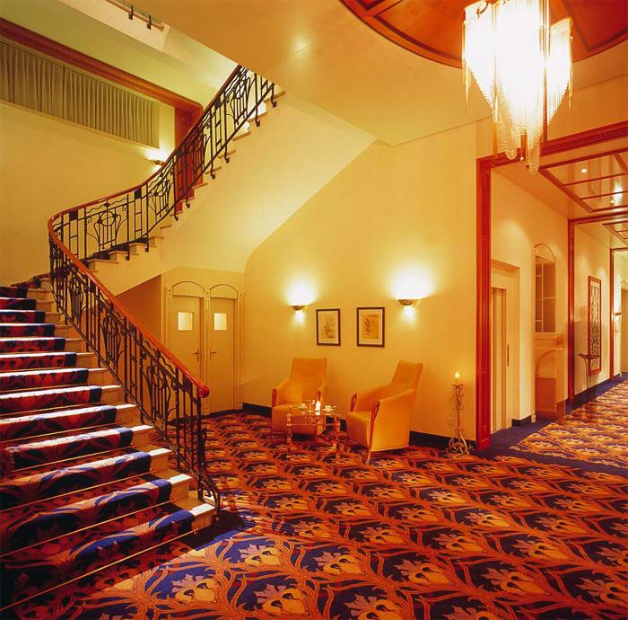 Cresta palace 3 berge for Wellnesshotel deutschland designhotels