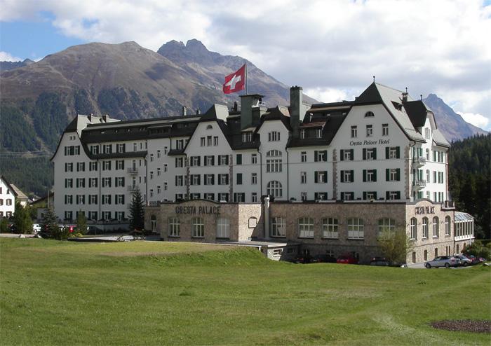 Cresta palace 4 berge for Wellnesshotel deutschland designhotels