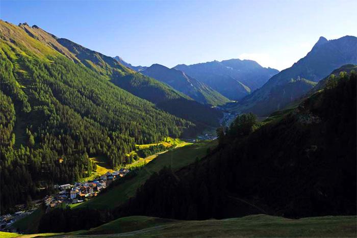Samnaun 4 berge for Wellnesshotel deutschland designhotels